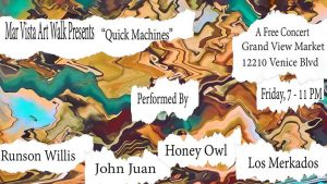 MVAW Presents: Runson Willis, John Juan, Honey Owl, Los Merkados